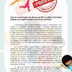Carta de comemoração dos 30 anos do ECA e a defesa da Proteção Integral como legado: desafios do presente e do futuro